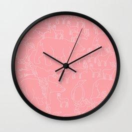 Global warming and animal migration 02 Wall Clock