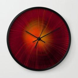 Explosive Vibrations Wall Clock