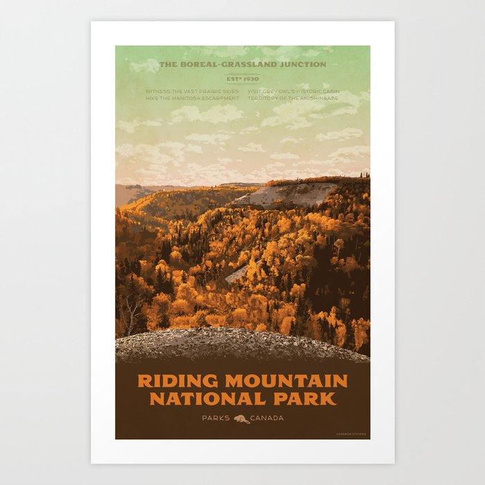 Riding Mountain National Park Art Print