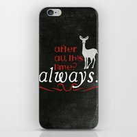 snape iPhone & iPod Skins featuring Harry Potter Severus Snape After all this time? - Always. by raeuberstochter