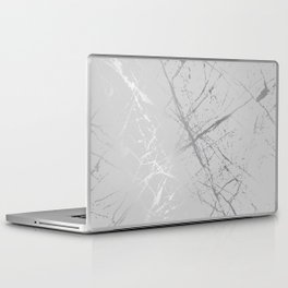 Silver Splatter 089 Laptop & iPad Skin