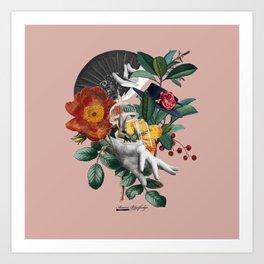 Fiesta de la Primavera Art Print