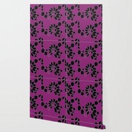 Flowers in Perpetual Motion Wallpaper
