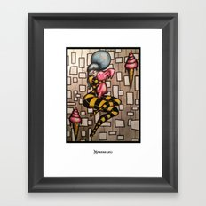 Love and Bunnies Framed Art Print