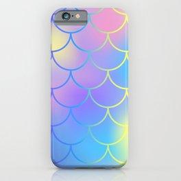 Turquoise Purple Mermaid iPhone Case