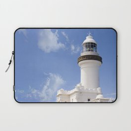 Byron Bay Lighthouse blue Sky Laptop Sleeve