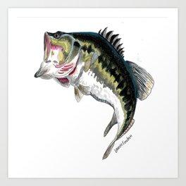 Mr Bass Art Print