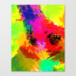 TROPICALIA III Canvas Print