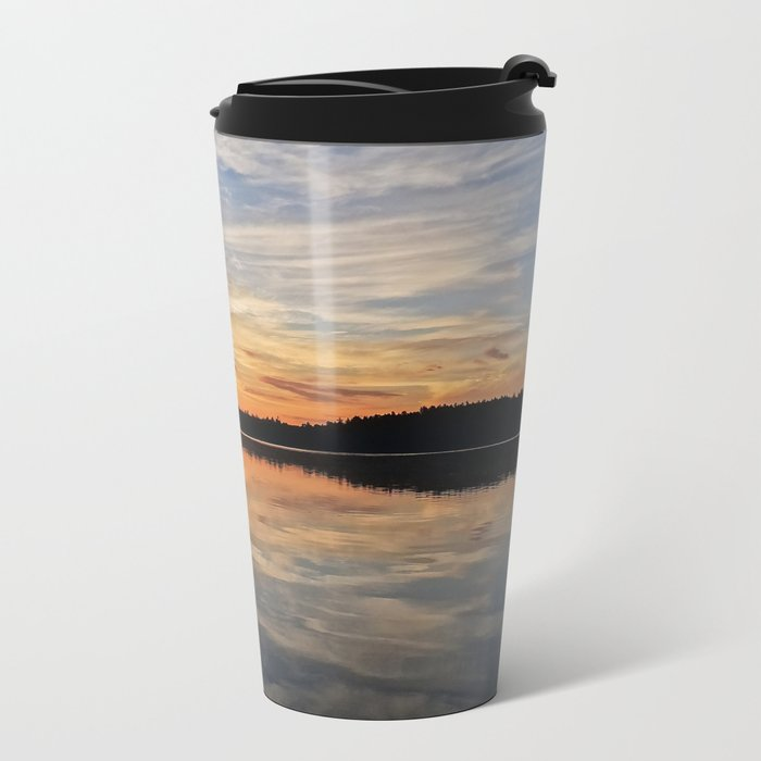 Minnesota Sunrise Metal Travel Mug