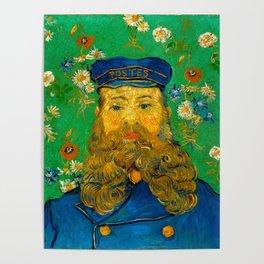 """Vincent van Gogh """"Portrait of Joseph Roulin"""" Poster"""