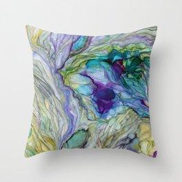 Where Mermaids Dream Throw Pillow