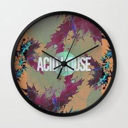 Acid House IV Wall Clock