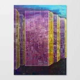 Blocks / Urban Canvas Print