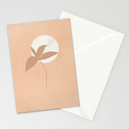 Minimal obstruction of the full moon Stationery Cards