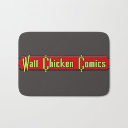 Wall Chicken Logo Bath Mat