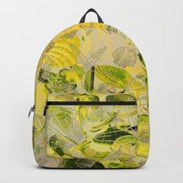 Shells V03 YELLOW GREEN Backpack