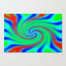 Colours of the Rainbow Canvas Print