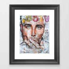 VICE DER TÖTET Framed Art Print