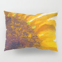 Sunflower Field In Late Summer Pillow Sham