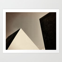 Berlin Holocaust Memorial Art Print