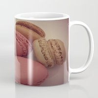 macaroon Mugs featuring macaroon by  Alexia Miles photography