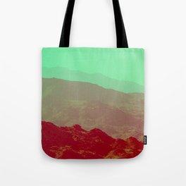 Palm Springs Mountains II Tote Bag