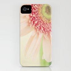 Pink Flower iPhone (4, 4s) Slim Case