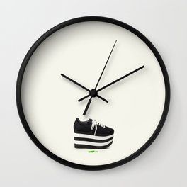 the past dreams of the adolescent Wall Clock