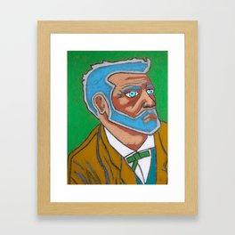 Jule Vernes Framed Art Print