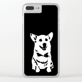 CORGI PET DOG Clear iPhone Case