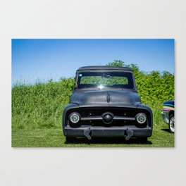 Won by a Foot Canvas Print