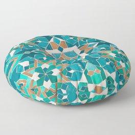 Zellige - Morocco - Casablanca II Floor Pillow