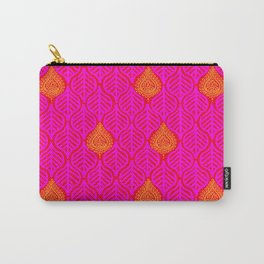 PLANTAIN PALACE - RED/PINK/ORANGE Carry-All Pouch