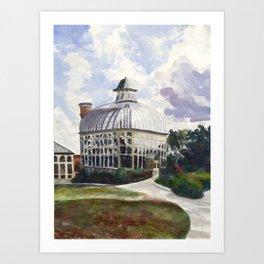 Baltimore Conservatory Art Print