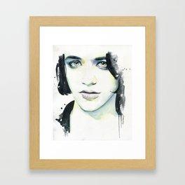 Brian Molko (I know) Framed Art Print