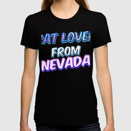Dog Lover From Nevada T-shirt