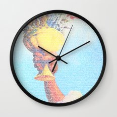 Monty Python & The Holy Grail. The Script Print! Wall Clock