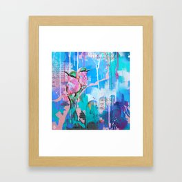 Earths Last Picture Framed Art Print
