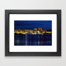 National Harbor Framed Art Print