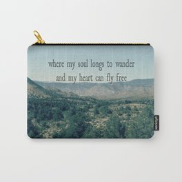 Where My Soul Longs to Wander Carry-All Pouch
