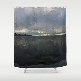 Gonzales Beach at Sunrise No. 1 Shower Curtain