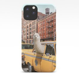 Alpaca in New York iPhone Case