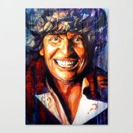 Dr Who - Tom Baker Canvas Print