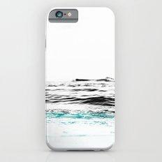 Minimalist ocean waves Slim Case iPhone 6s