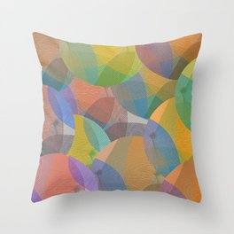 Abstract 102 Throw Pillow