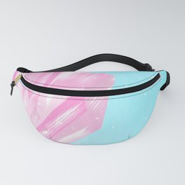 Sparkly Pinky Crystals Design Fanny Pack