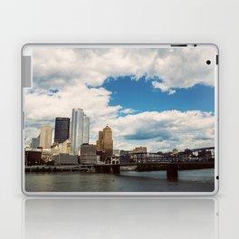 Hearts Over Pittsburgh Laptop & iPad Skin