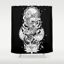 Balinese Saraswati Shower Curtain