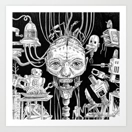 Android Assembly Art Print
