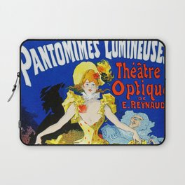 Jules Cheret Musee Grevin Pantomines Lumineuses 1892 Laptop Sleeve
